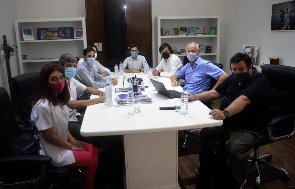 Las autoridades electas de CICOP se reunieron con Gollan y Kreplak