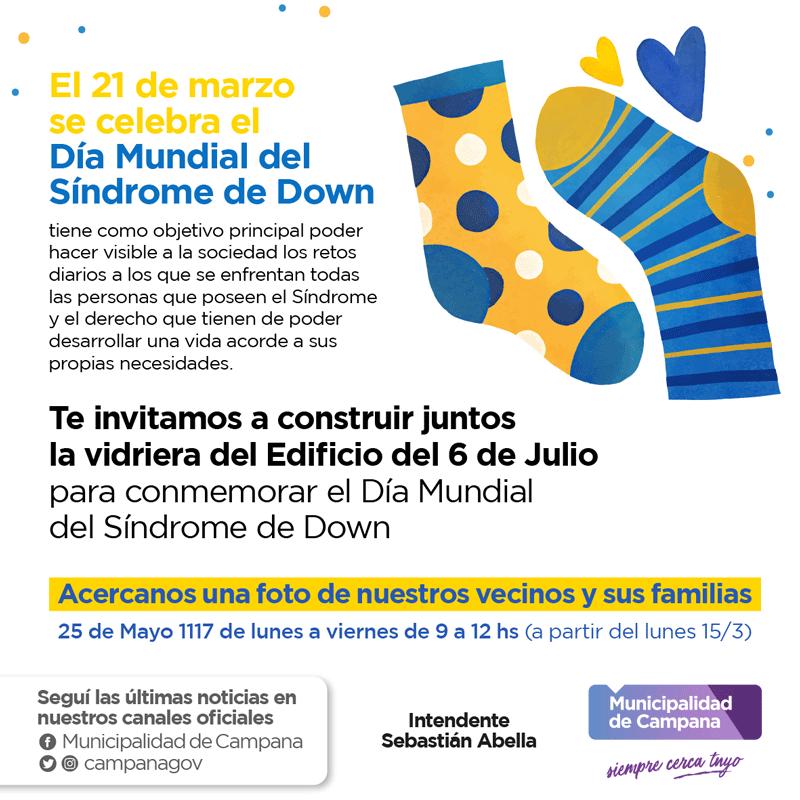 Múltiples actividades por el Día Mundial del Síndrome de Down