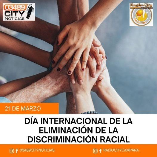 21 de marzo : DIA INTERNACIONAL DE LA ELIMINACION DE LA DISCRIMINACION RACIAL