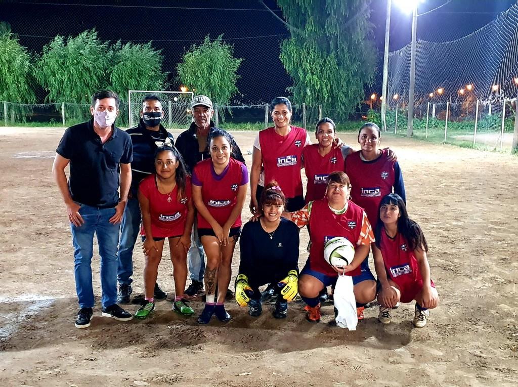 Alejo Sarna sigue acompañando el desarrollo del deporte local.