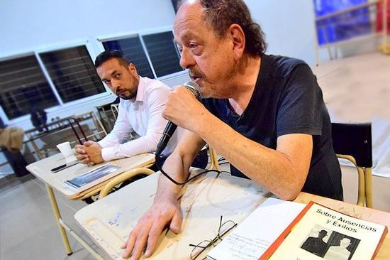 El Frente Grande y un homenaje a Miguel DI Fino por el dia de la Memoria
