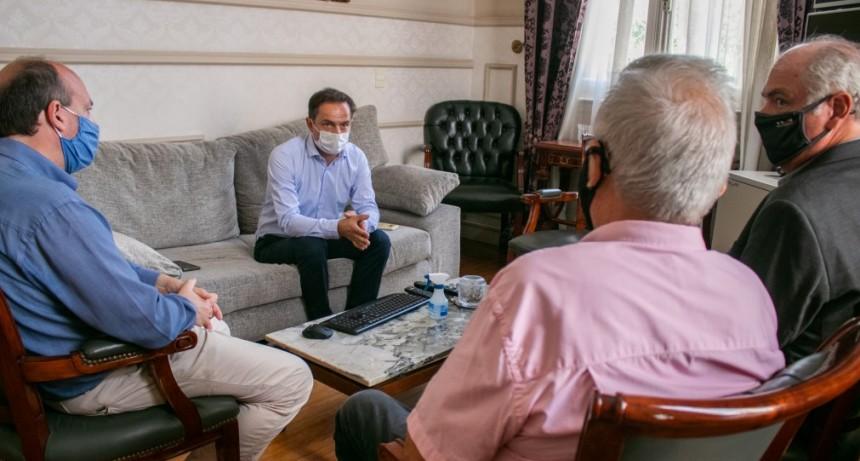 El Intendente se reunió con las nuevas autoridades de la UIC