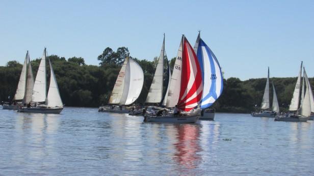 Se disputo la Regata del Grand Prix Interclubes 2015 en Campana Boat Club