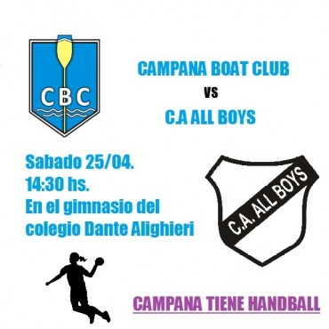 Handball Los dos equipos masculinos visitarán a Laferrere e Inter femenino recibe a All Boys