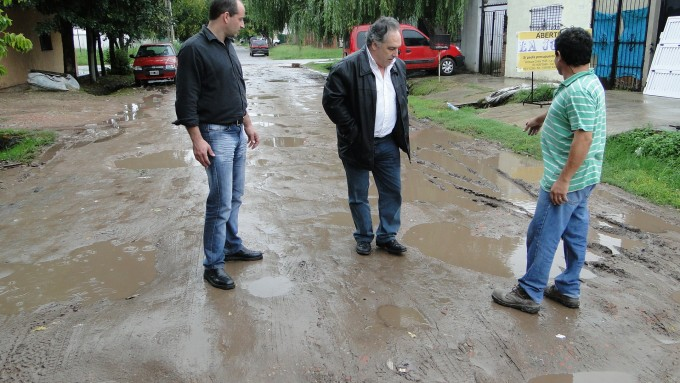 El Frente Renovador realizó reclamos por la situación del Barrio La Josefa