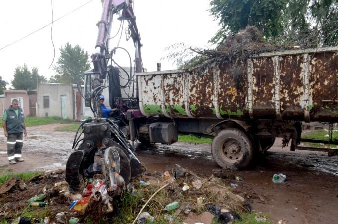 El Municipio realizó trabajos de limpieza integral en La Josefa