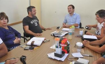 El Intendente se reunió con concejales del bloque Cambiemos