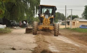 Realizan trabajos de mantenimiento integral en Los Nogales