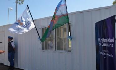 Abella anunció la creación de un destacamento policial en el barrio Lubo