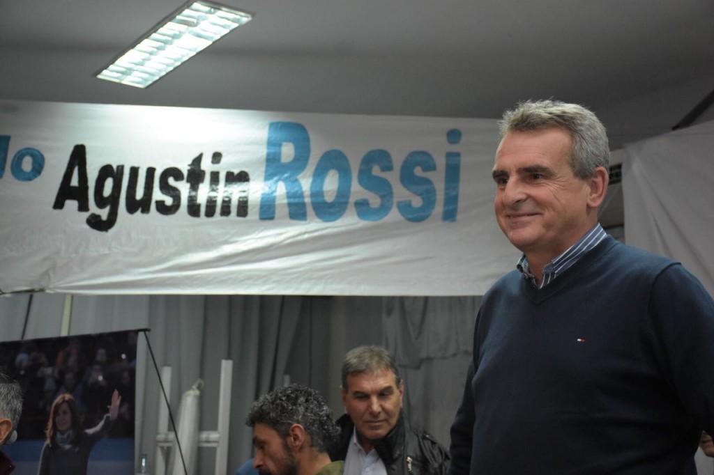 Agustín Rossi en Campana
