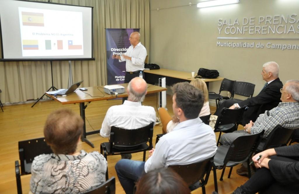 Emprendedores De La Ciudad Participaron De Una Charla