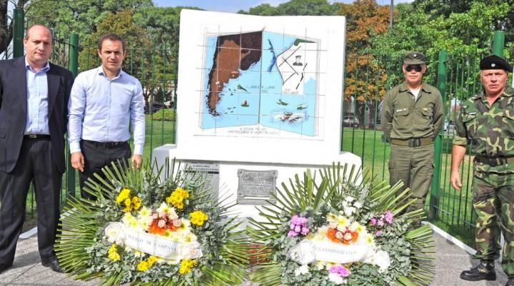 Con un emotivo homenaje, honraron a veteranos y caídos en la Guerra de Malvinas
