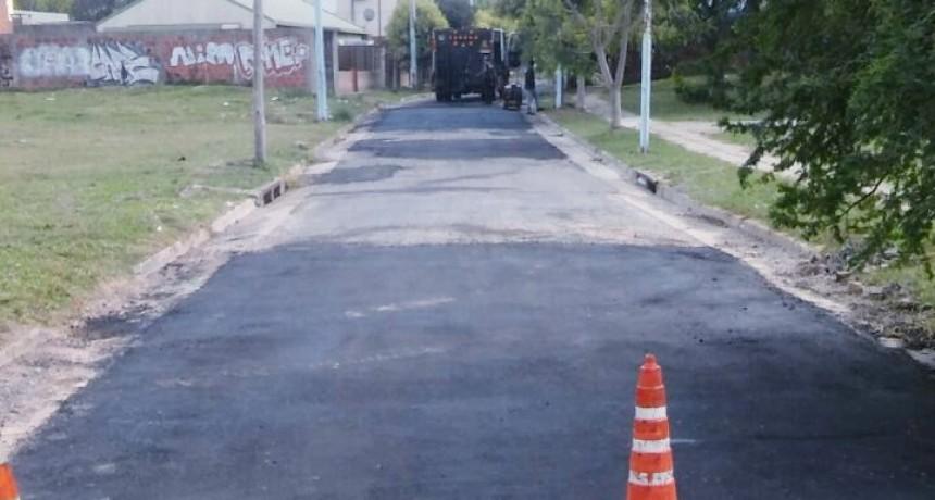 El Municipio reparó la calle Barnetche