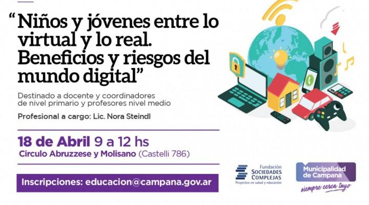 """El Municipio invita a una capacitación docente sobre el """"mundo digital"""""""