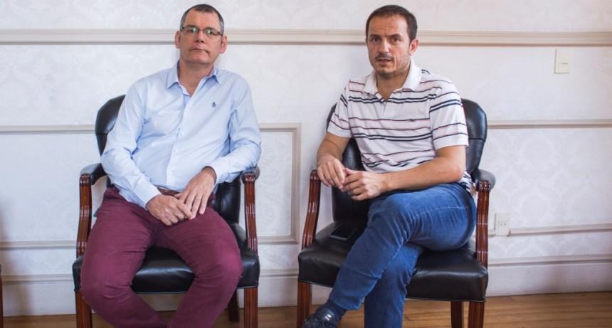 Abella presentó al nuevo secretario de Producción, Turismo y Empleo