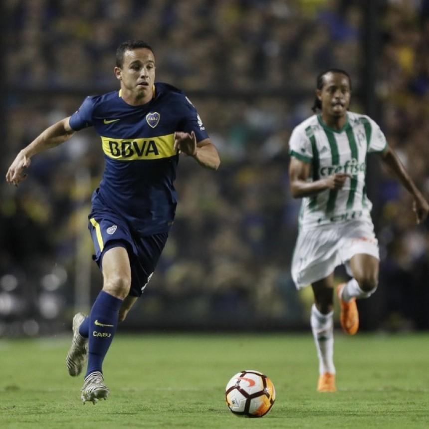 Boca Juniors cayó como local ante Palmeiras de Brasil por 2 a 0