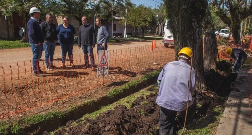El 100% del barrio Las Acacias tiene red de gas natural