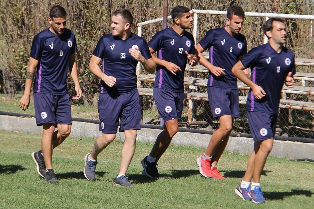 Villa Dálmine cierra su preparación para el partido del domingo