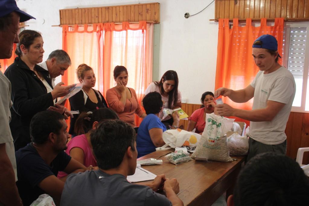 Finalizó la primera etapa de talleres Pro Huerta