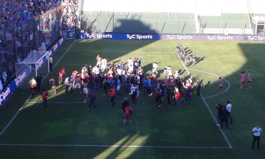 Arsenal de Sarandí regresó a la primera división del fútbol argentino