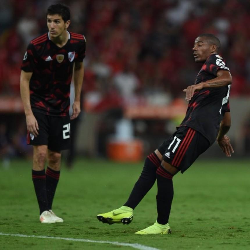River Plate reaccionó a tiempo y empató 2 a 2 en Brasil