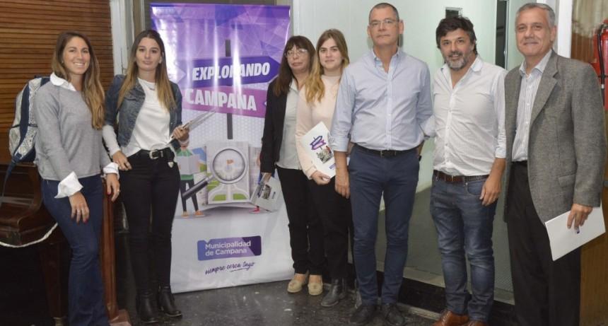"""La Dirección de Turismo lanzó el programa """"Explorando Campana"""""""
