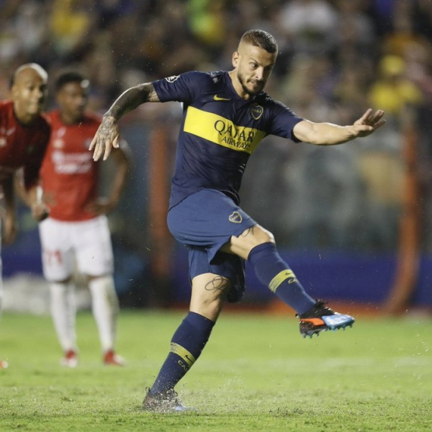 Boca Juniors logró un triunfo importante ante Jorge Wilstermann de Bolivia