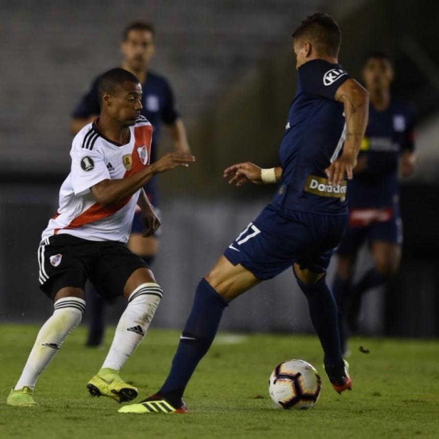 Importante triunfo de River Plate ante Alianza Lima de Perú