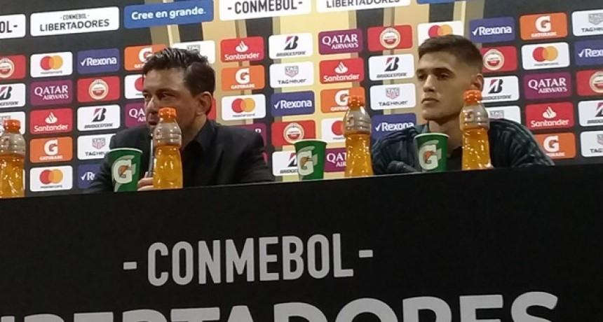 Marcelo Gallardo: Esperemos sostenernos así para lo que resta