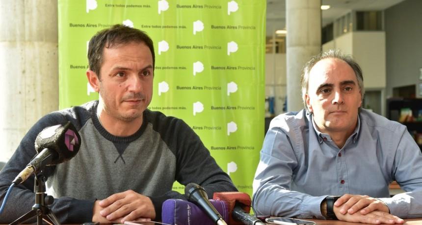 Abella y el ministro de Cultura bonaerense anunciaron el regreso de Acercarte a Campana