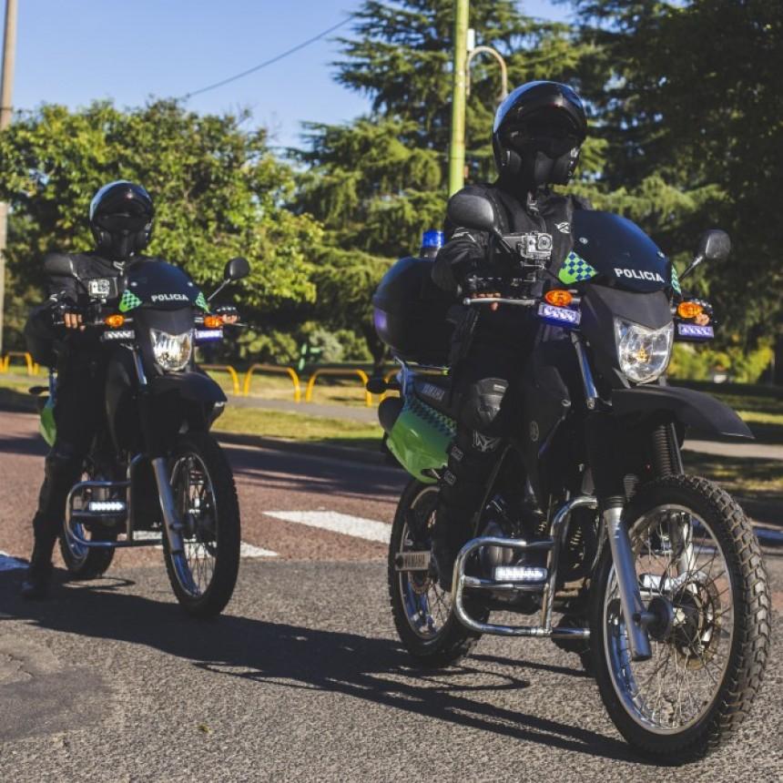 Atacan a uno de los dos nuevos motopolicías