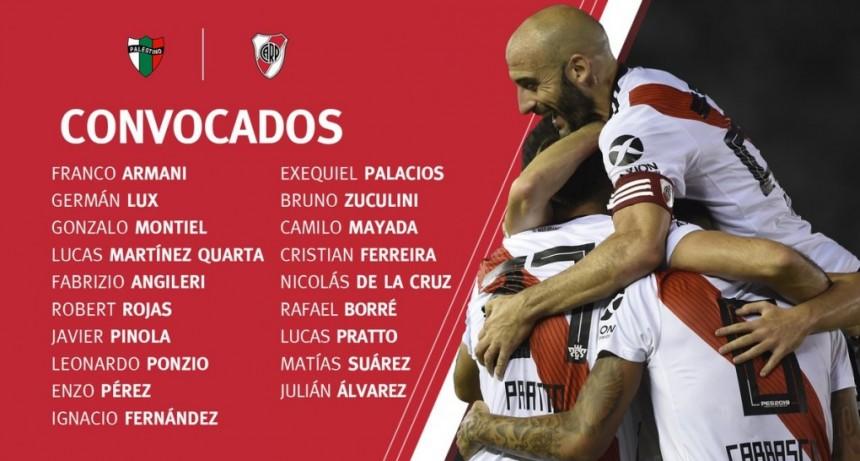 River Plate visita a Palestino de Chile
