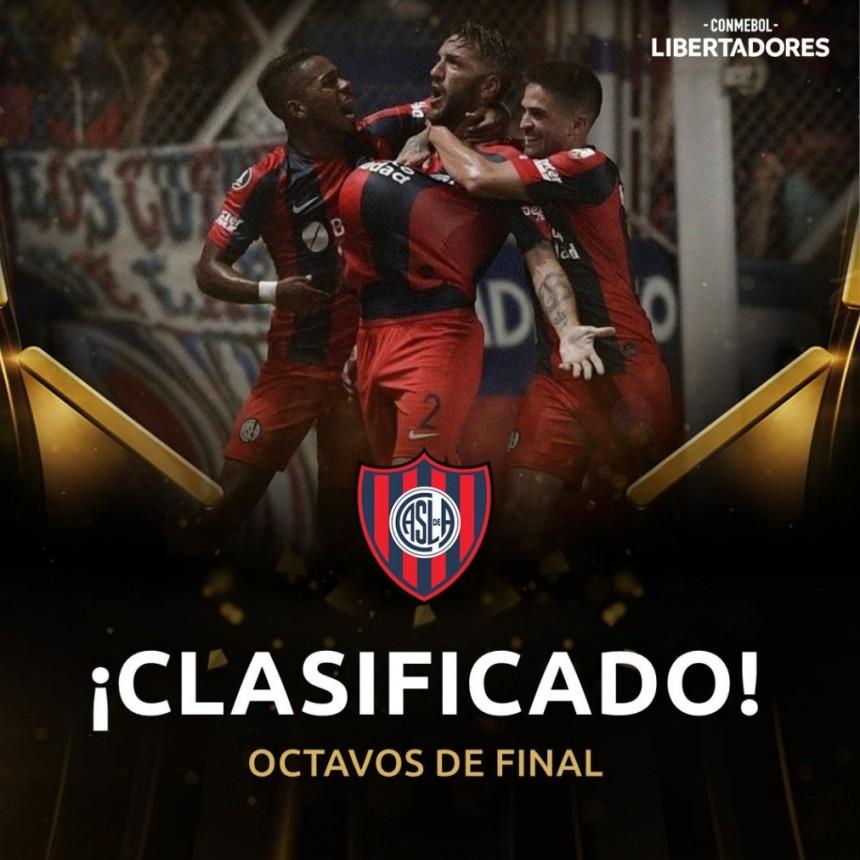 SanLorenzo a octavos de final de la Copa Conmebol Libertadores
