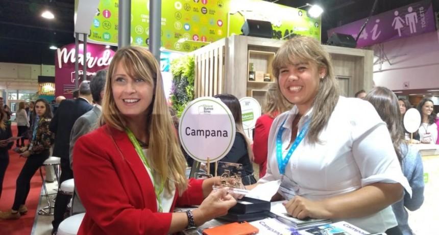 Campana estuvo presente en la Expoeventos 2019