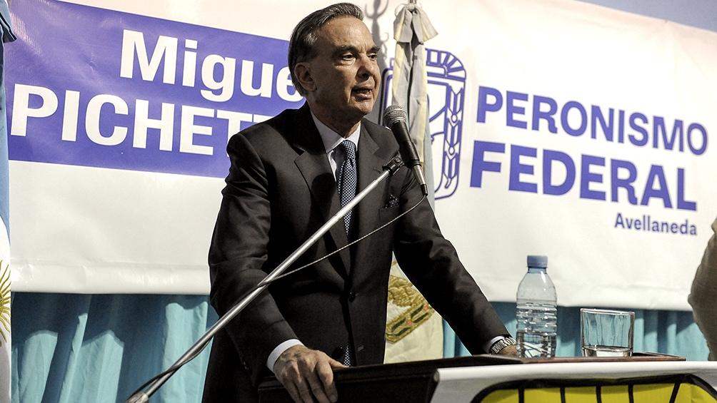 Pichetto: Después de estas elecciones, empiezo a trabajar en Río Negro con Alternativa Federa