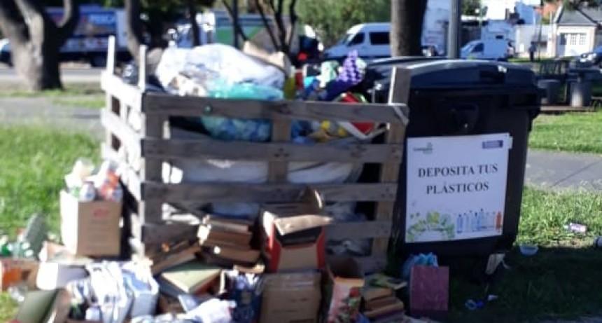 Puntos verdes: solicitan a los vecinos arrojar solo material reciclable