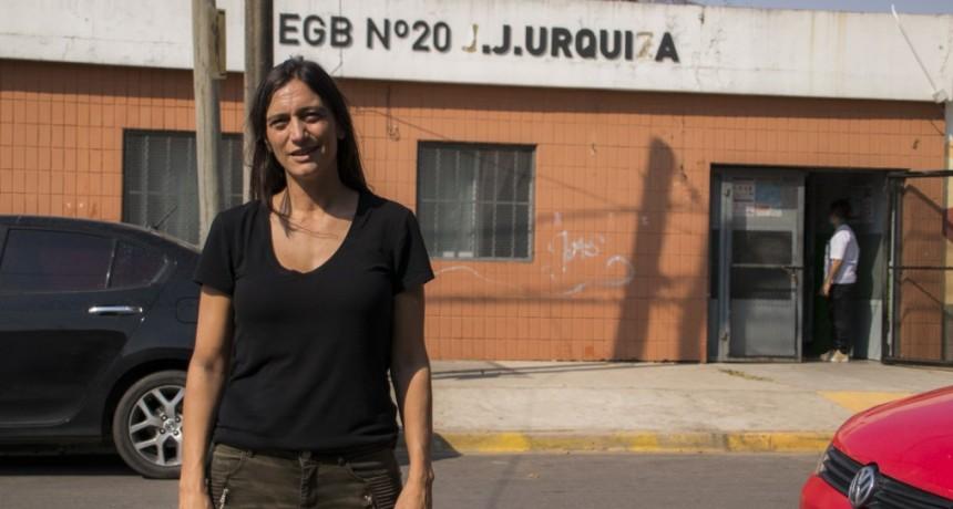 Elisa Abella : Más de 12 mil familias de alumnos de escuelas locales reciben asistencia alimentaria