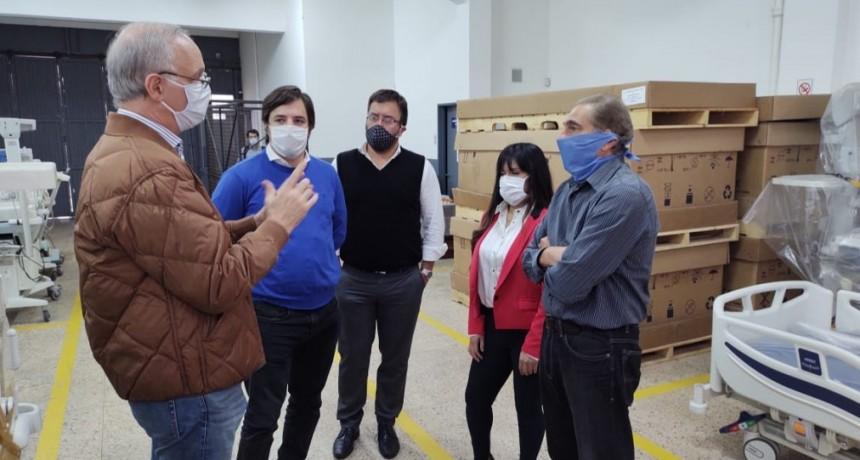 LA PROVINCIA REPARA MÁS DE 180 EQUIPOS HOSPITALARIOS PARA FORTALECER LA ATENCIÓN DURANTE LA PANDEMIA