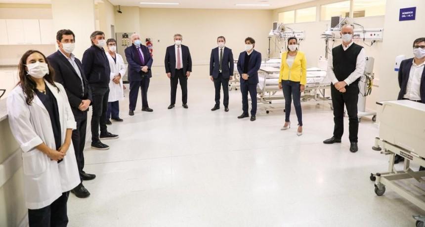 PUESTA EN MARCHA DEL HOSPITAL DEL BICENTENARIO DE ESTEBAN ECHEVERRÍA PARA ATENDER CASOS DE COVID-19
