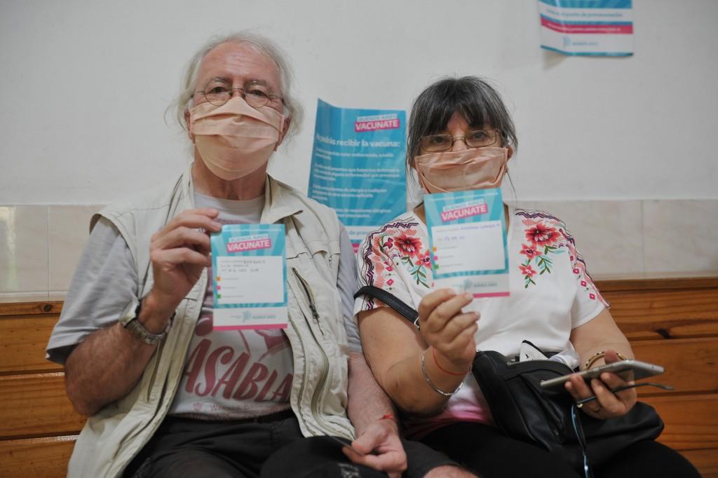 EN ARGENTINA MÁS DE 4 MILLONES DE PERSONAS YA RECIBIERON LA PRIMERA DOSIS DE LA VACUNA CONTRA COVID-19