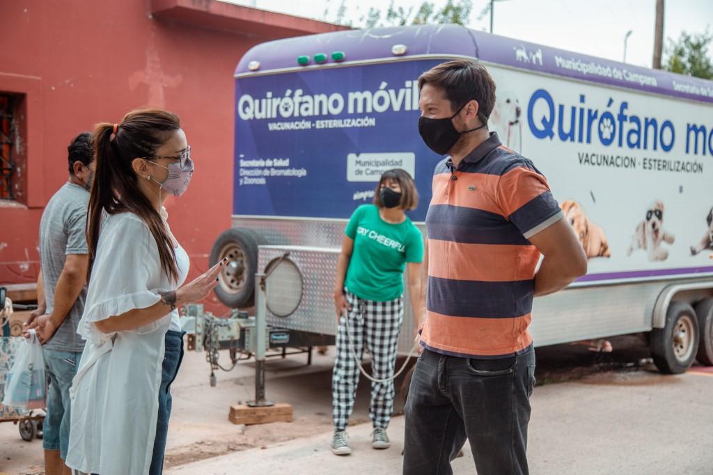 Casaretto: el Quirófano Móvil refleja el compromiso del Municipio con el bienestar de las mascotas