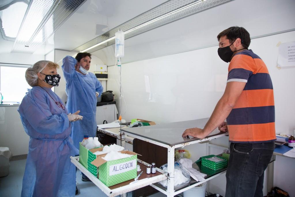 Brutti:  El quirófano móvil llegará a todos los barrios