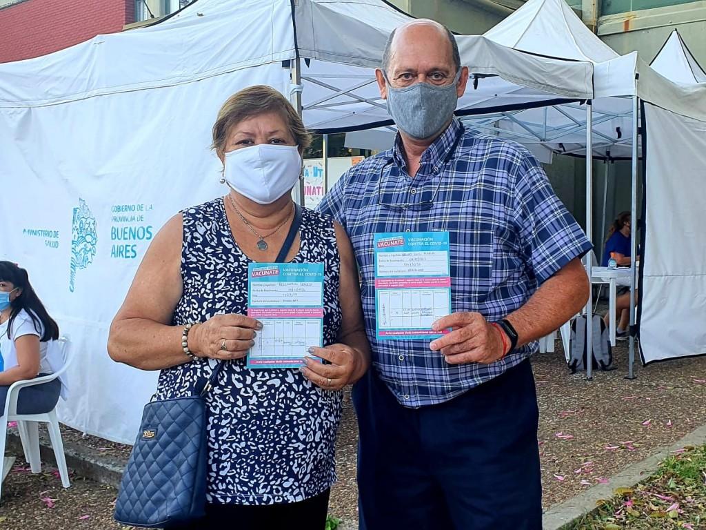 Alejo Sarna:  La campaña de vacunación avanza a todo ritmo