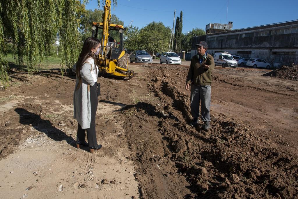 Casaretto :  Se está transformando un área que durante décadas los vecinos no pudieron disfrutar