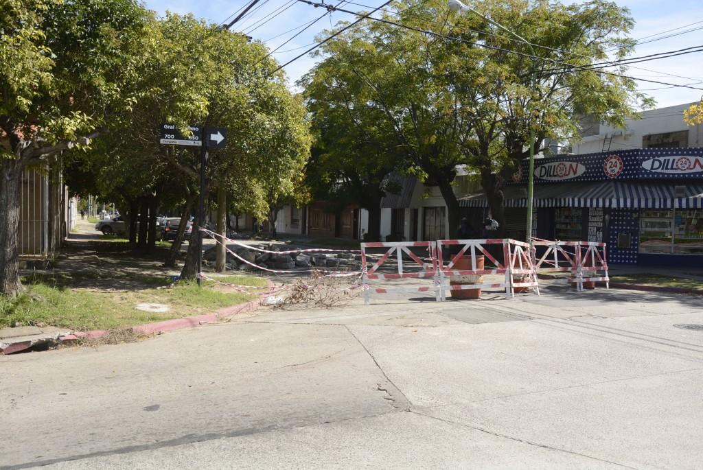 Concluyó la reparación del hormigón en calle Coletta