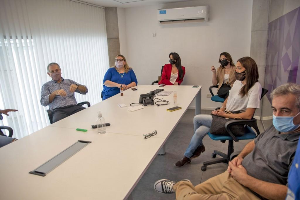 Concejales de Juntos por el Cambio visitaron el Centro de Mediación Vecinal