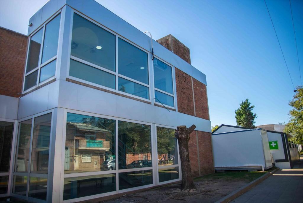 Nuevo laboratorio del Hospital Municipal San José: avanza la construcción