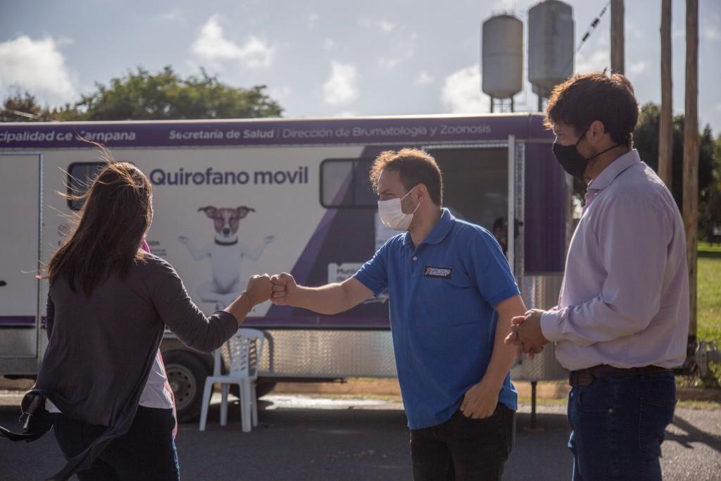 El quirófano móvil continúa visitando los barrios de la ciudad