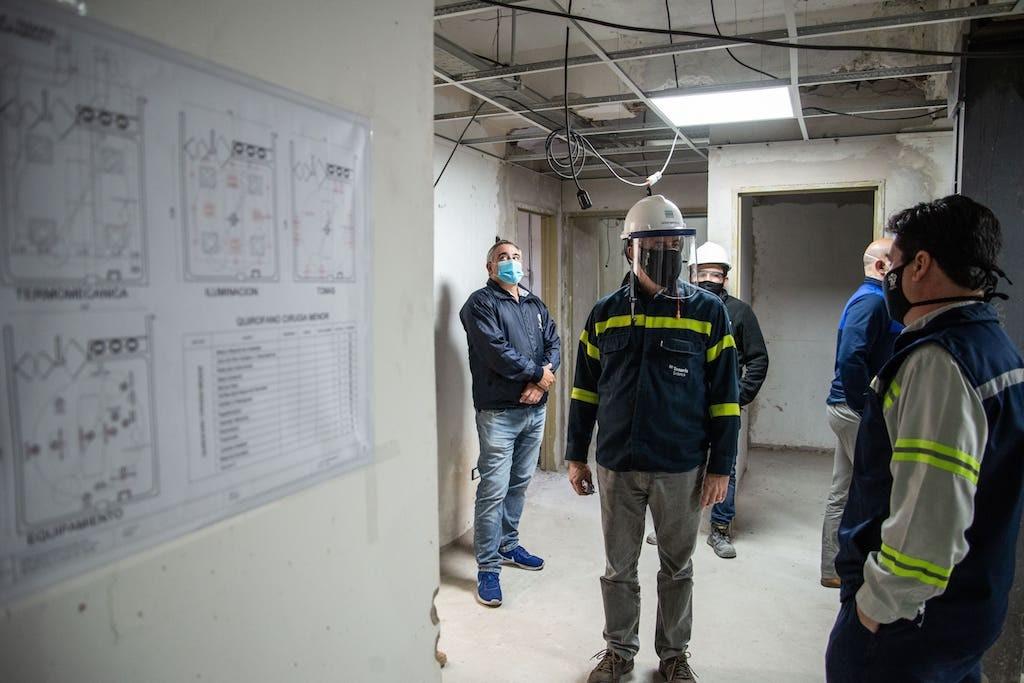 Tenaris impulsa una reforma integral en el Sanatorio Augusto T. Vandor de Campana