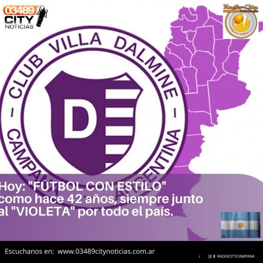 RADIO CITY CAMPANA FM 91.7 Mhz JUNTO A VILLA DALMINE HOY EN CAMPANA